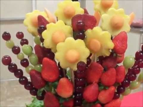 Decoracion con frutas youtube for Como secar frutas para decoracion