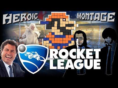 ROCKET LEAGUE // GAMEPLAY FR // HEROIC MONTAGE