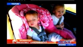 Bebé despierta con Gangnam Style