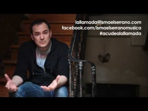 Colabora en el nuevo disco de Ismael Serrano. Acude a La Llamada