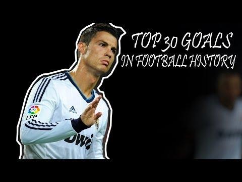 TOP 30 Mejores Goles de la Historia/Best 30 Goals in Football History HD