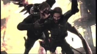 Resident Evil Degeneration Clip Leon Kisses Angela