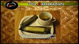 Cooking   sumang kamoteng kahoy pinoy hapagkainan   sumang kamoteng kahoy pinoy hapagkainan