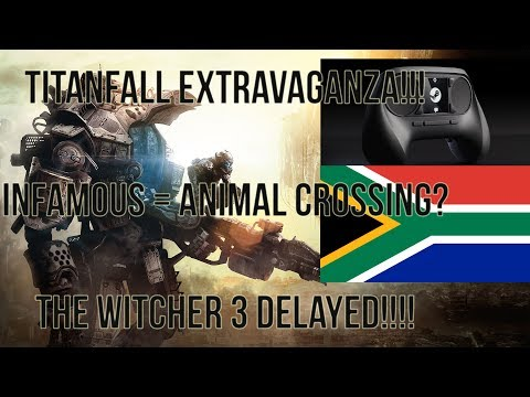 Weekend News Update!!: No Titanfall in South Africa!, LoL Attempted Suicide, Watchdogs Multiplayer??