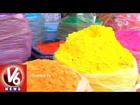 City Gears Up For Holi Celebrations