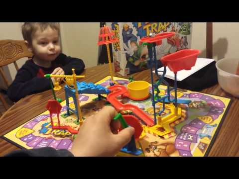 Every kid loves Mouse Trap Board Game(In action)