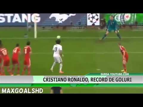 Cristiano Ronaldo, record de goluri