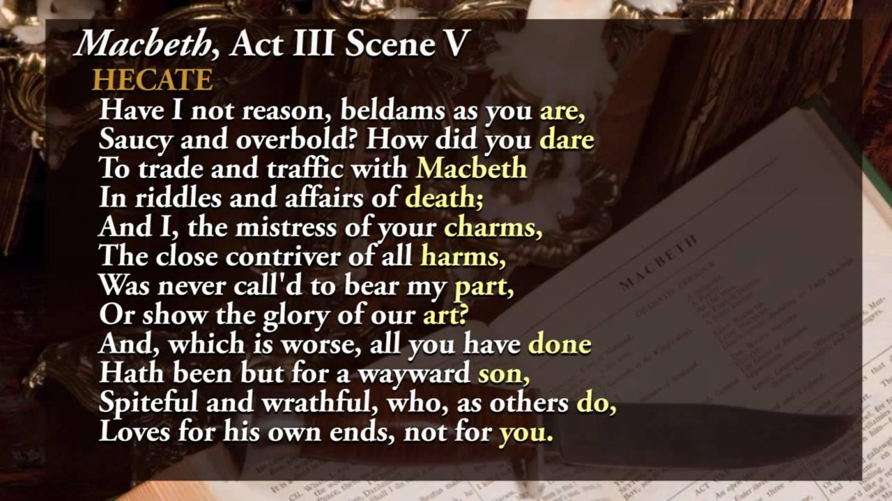 act 1 scene 5 mcbeth Free summary and analysis of act 1, scene 5 in william shakespeare's macbeth  that won't make you snore we promise.