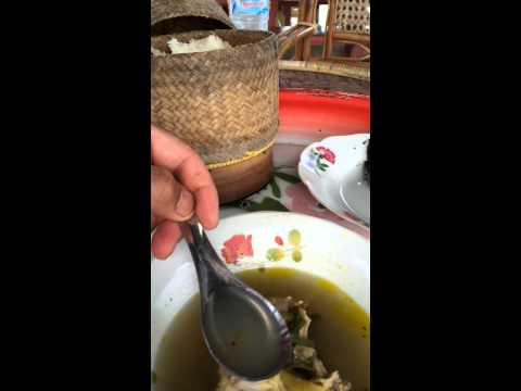 My breakfast in Laos 2014