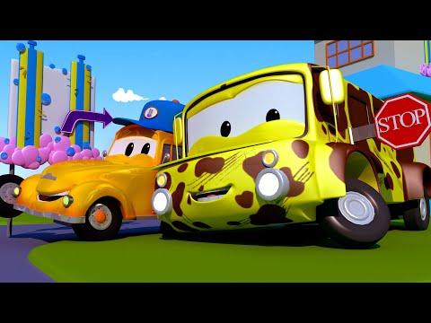 Autobus Lily - mesto áut