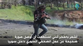 صورة لمصور سوري وهو يركض حاملاً بين يديه طفلاً مصاباً تشعل مواقع التواصل الإجتماعي  