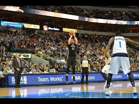 TIMBERWOLVES OUTLAST MAVERICKS IN OT 123-122 HIGHLIGHTS (KEVIN LOVE 35 POINTS)