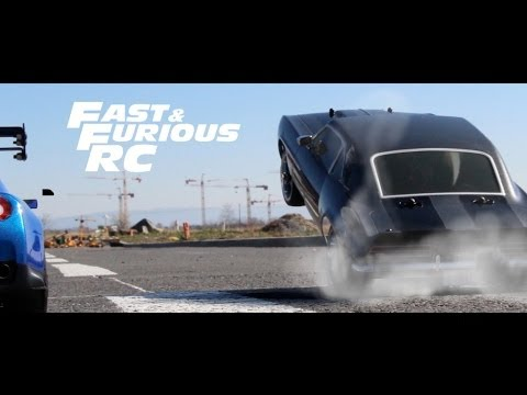 Fast & Furious RC : The Greatest Car Chase RC ( Toretto VS O'Connor )