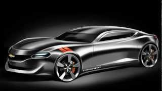 2015 Chevrolet Camaro Coupe Design Study