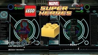 LEGO: Marvel Super Heroes Customizing Characters