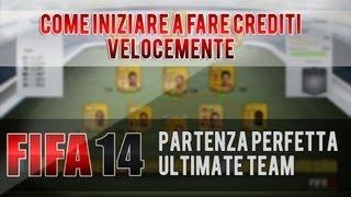 [FIFA 14] COME FARE CREDITI VELOCEMENTE (PARTIRE