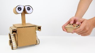 How to Make WALL-E  Robot from Cardboard