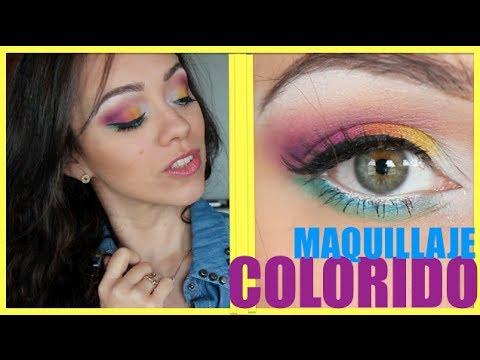 Maquillaje Colorido ♡ ¡Lleva el arcoíris en tus ojos!