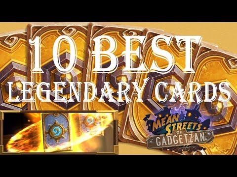Hearthstone: The 10 Best Legendary Cards to Craft (Standard Format)