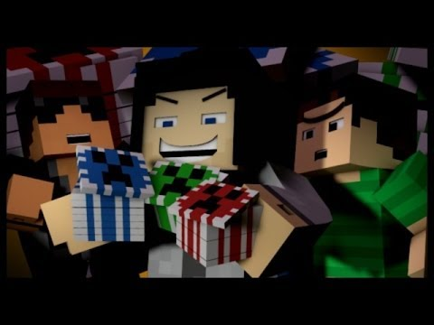 "Minecraft: ""GAMBLING GAZZA!"" (Casino In Minecraft)"