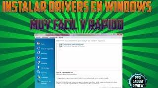 Instalar Drivers En Windows 7 Y Copia De Seguridad De