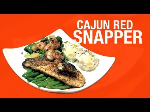 Foodwise - Carolina Kitchen's Cajun Red Snapper