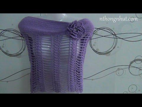 Hướng dẫn móc áo choàng len