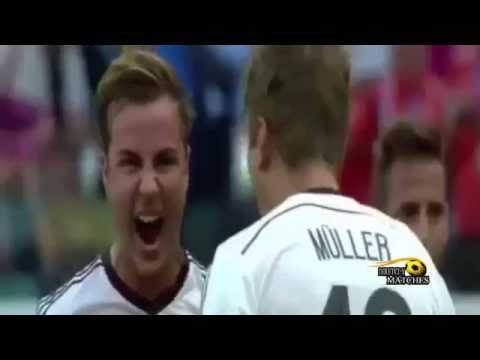 Germany vs Portugal 4 - 0 Goals and Highlights ( FIFA World Cup ) 16/06/2014
