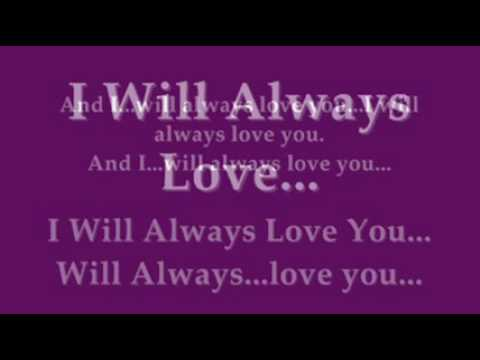 Whitney Houston - I Will Always Love You Lyrics | MetroLyrics