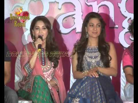 Launch of Song Dheemi Dheemi for the film ''Gulaab Gang'' 2