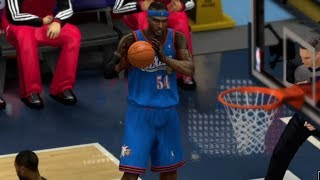 Kwame Brown Is Unstoppable NBA 2K14 100 Point Challenge