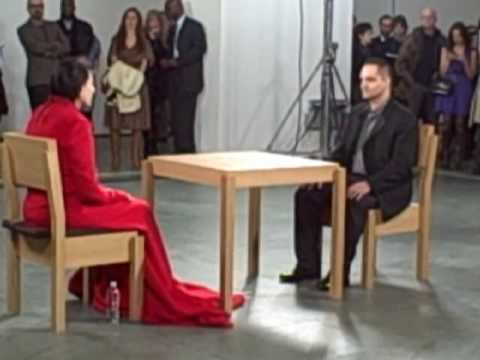 &quot;The artist is present&quot; MARINA ABRAMOVIC