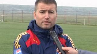 Eugen Beşleagă - antrenor Ajax Botoroaga 05.04.2014