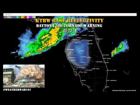 Geoengineering: Daytona 500 Tornado Warning