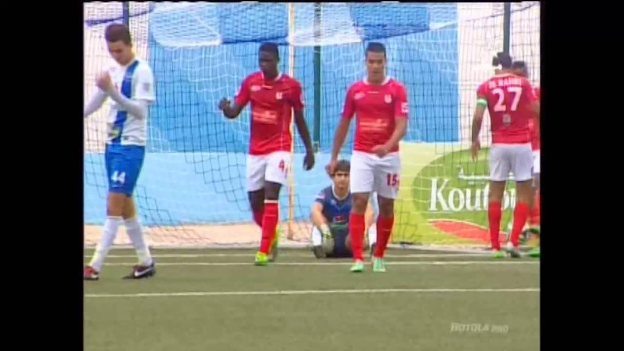 Chabab Rif Hoceima 1-3 Union Touarga Sport Rabat