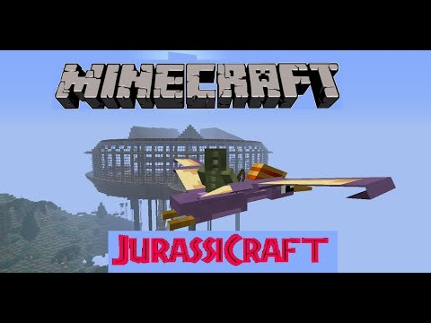 JurassicCraft Let's Play Ep 6 MOSASAURUS IS SO CUTE