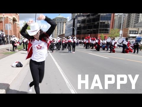 Pharrell Williams - Happy (Canadian Olympic and Paralympic version)