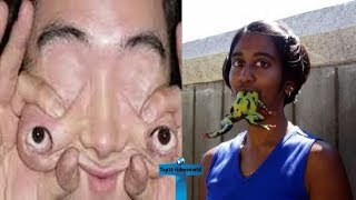 Top 10 Most Bizarre People In The World You Won't Believe Actually Exist Part#2