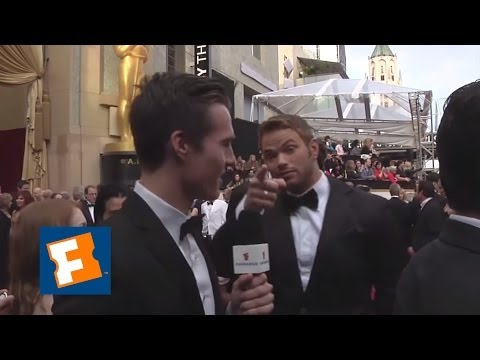 Marcus Johns at the Oscars - Kellan Lutz | FandangoMovies
