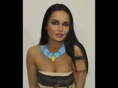 Pocahontas make up transformation