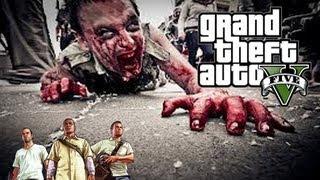 GTA 5 ZOMBIE En Las Calles De San Andreas