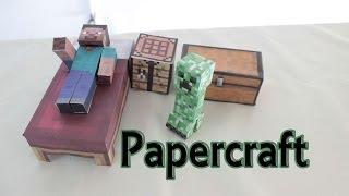 Cómo Hacer Papercraft De Minecraft Manualidades