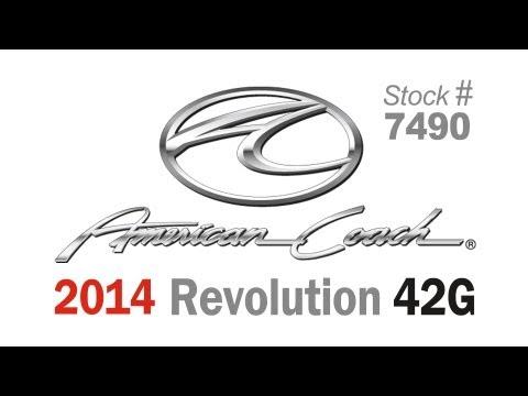 2014 American Coach Revolution 42T Class A Diesel Motorhome (Stock# 7490)