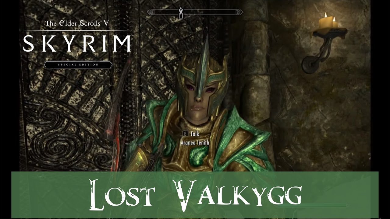 Skyrim Lost Valkygg Walkthrough Voice Mentary Youtube