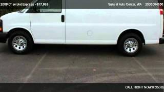 2009 Chevrolet Express 1500 Cargo - for sale in ; Bonney Lake __ Sunset RV&TRUCK Center __ ;, WA videos