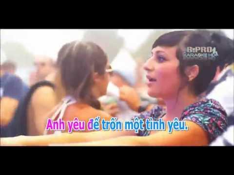 Karaoke HD Anh Yeu Nguoi Khac Roi   Remix Dj LeeK54   KhacViet