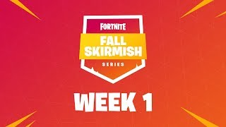 Fortnite Fall Skirmish - Week 1   HOLD THE THRONE (DUOS)