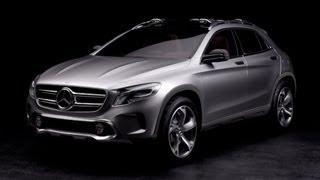? Mercedes GLA concept unveiled - DESIGN videos