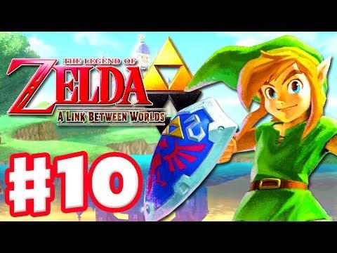 The Legend of Zelda: A Link Between Worlds - Gameplay Walkthrough Part 10 - Lorule (3DS)