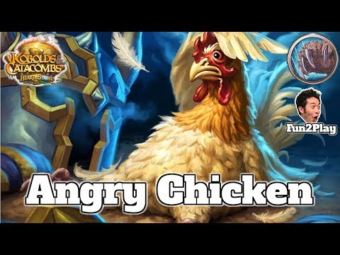 Angry Chicken Aggro Druid Kobolds and Catacombs | Hearthstone Guide How To Play